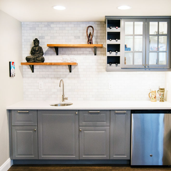 Georgeson Style Basement Design