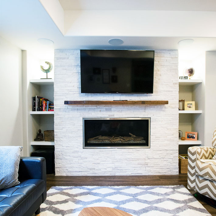 GEORGESON STYLE FIRE PLACE