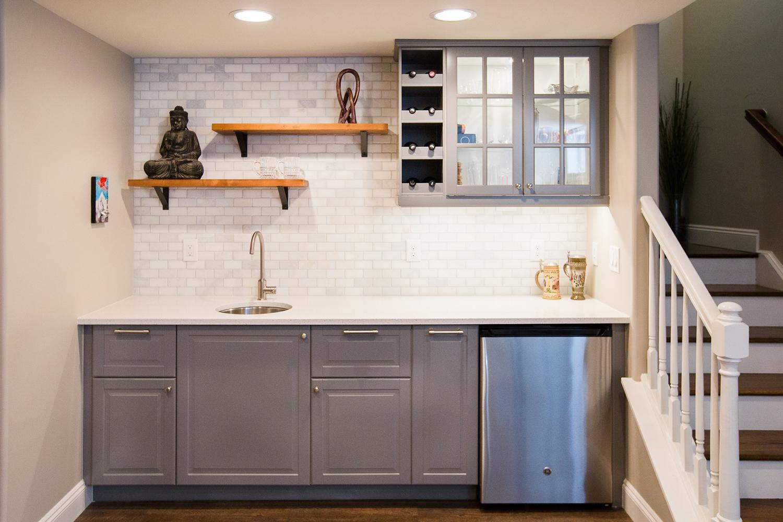 Dirr Basement Remodel: Basement Kitchen