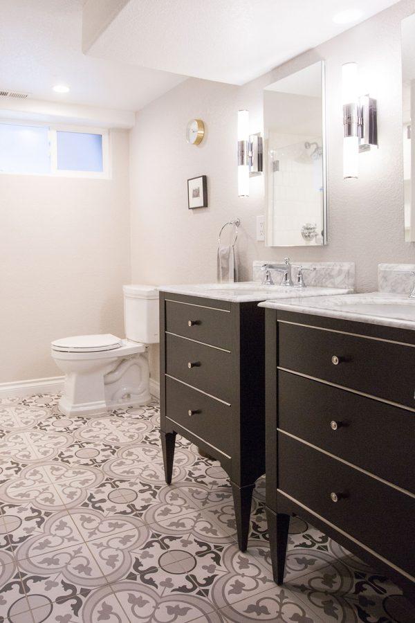 Georgeson Style bathroom vanity design