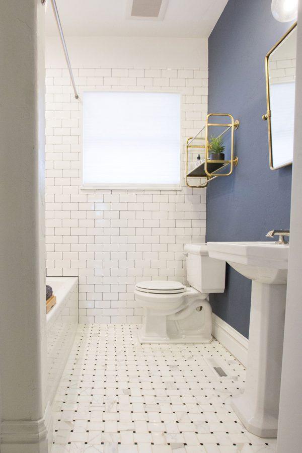 Georgeson Style bathroom tile design
