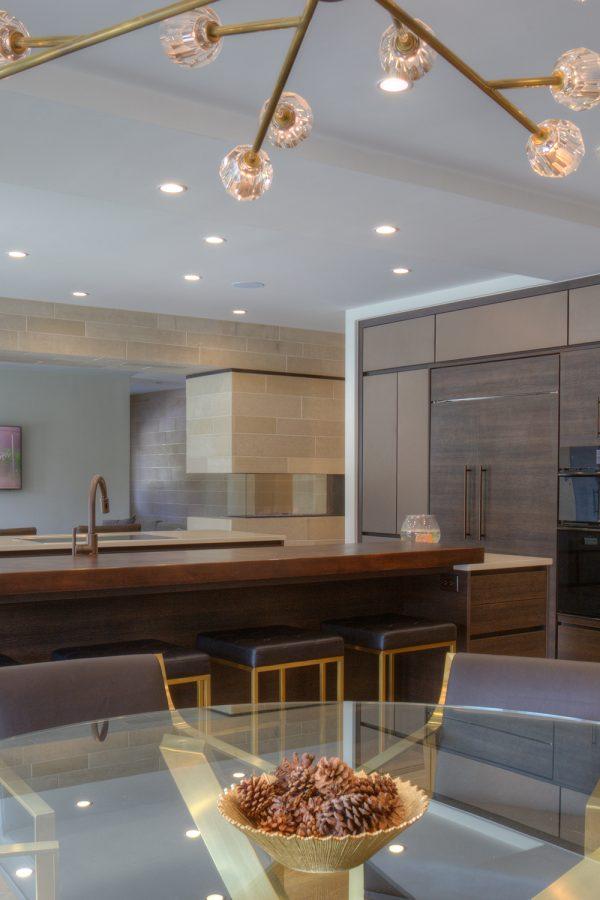 Georgeson Style mid-century modern kitchen design