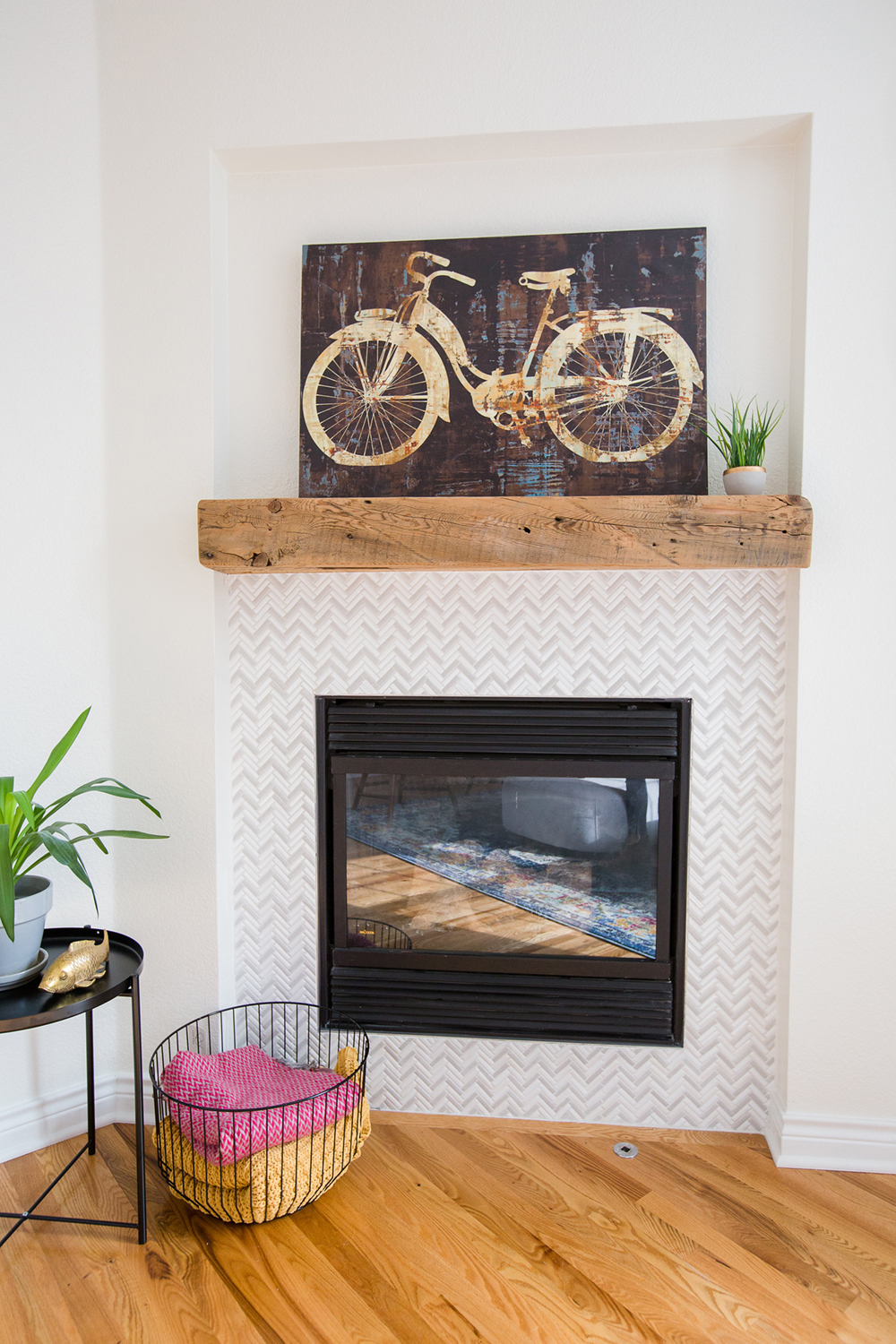 Georgeson Style fireplace design