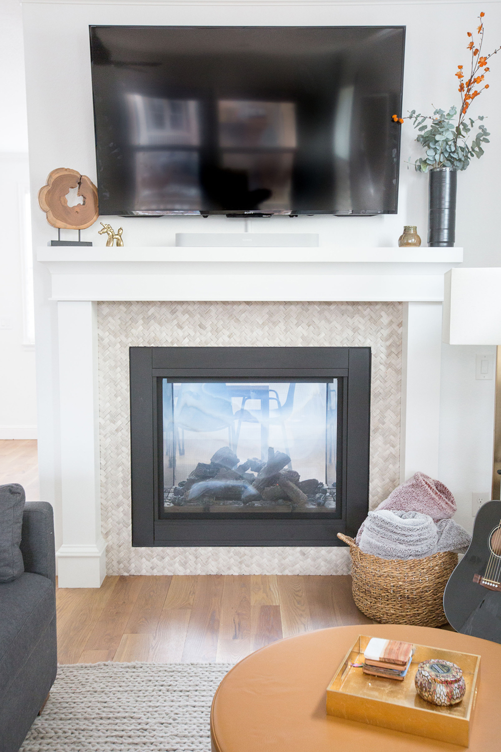 Georgeson Style fireplace mantle design