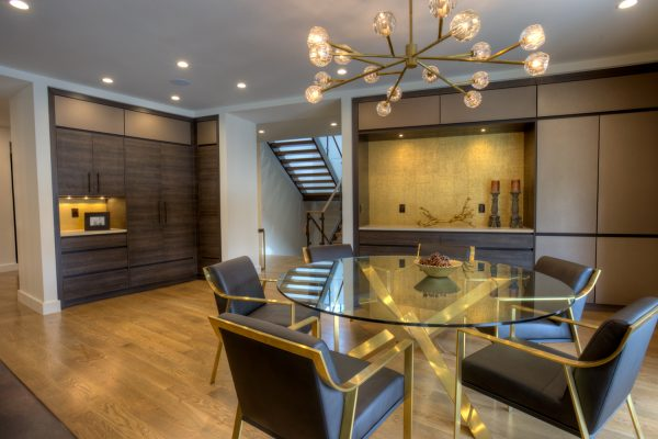 Georgeson Style mid-century modern dining room design