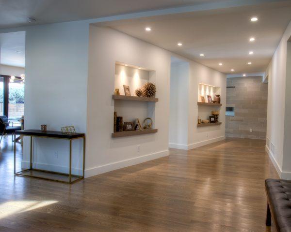 Georgeson Style mid-century modern hallway design