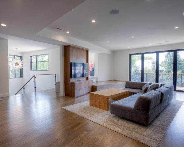 Georgeson Style mid-century modern living space design