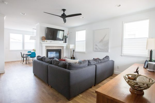 Georgeson Style family room design