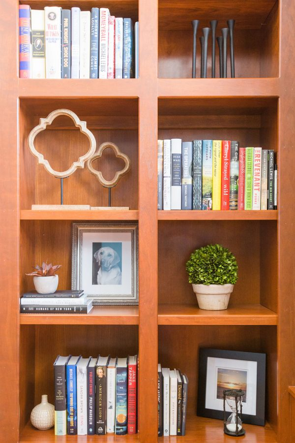 Georgeson Style living space shelf design