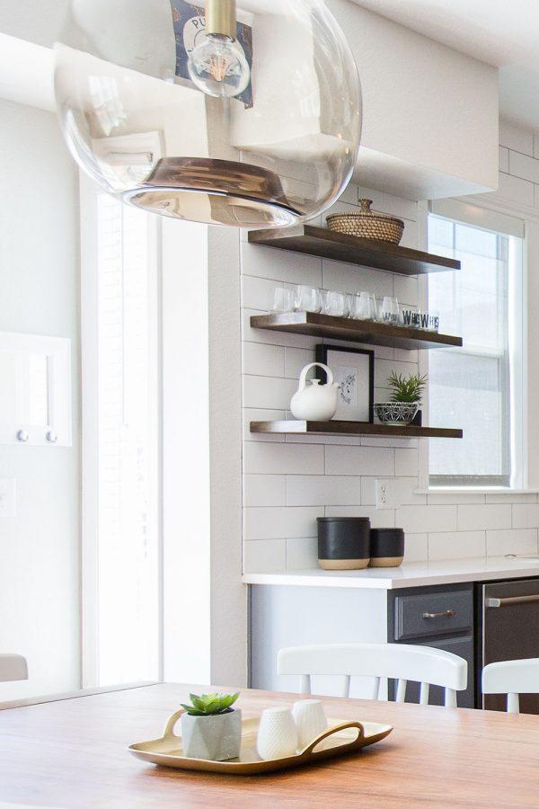 Georgeson Style modern kitchen design details