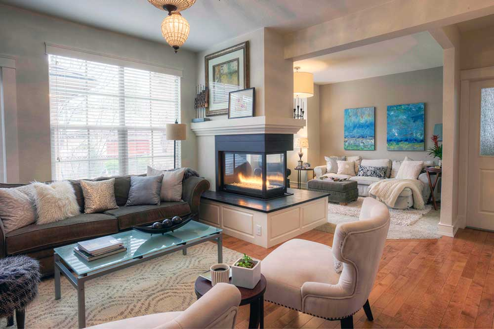 Georgeson Style living room design