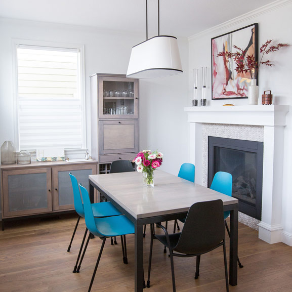 Georgeson Style E Design Dining Room