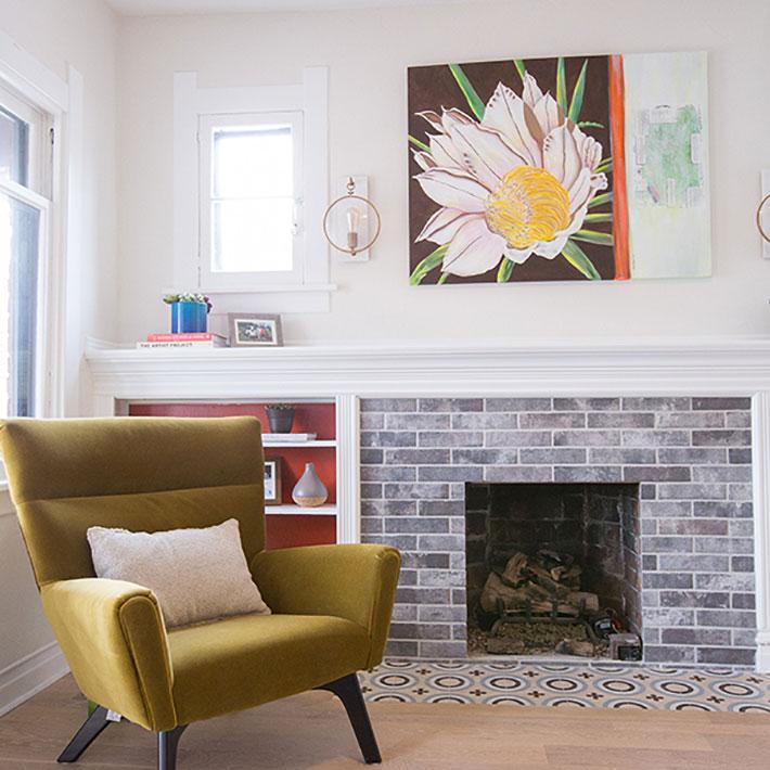 Georgeson Style Washington Park Living Room