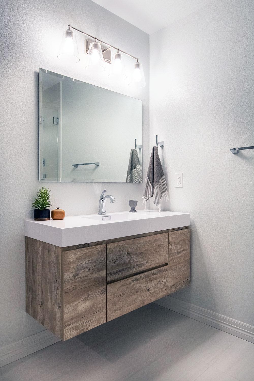 Yosemite Bathroom Remodel: Sink Vanity