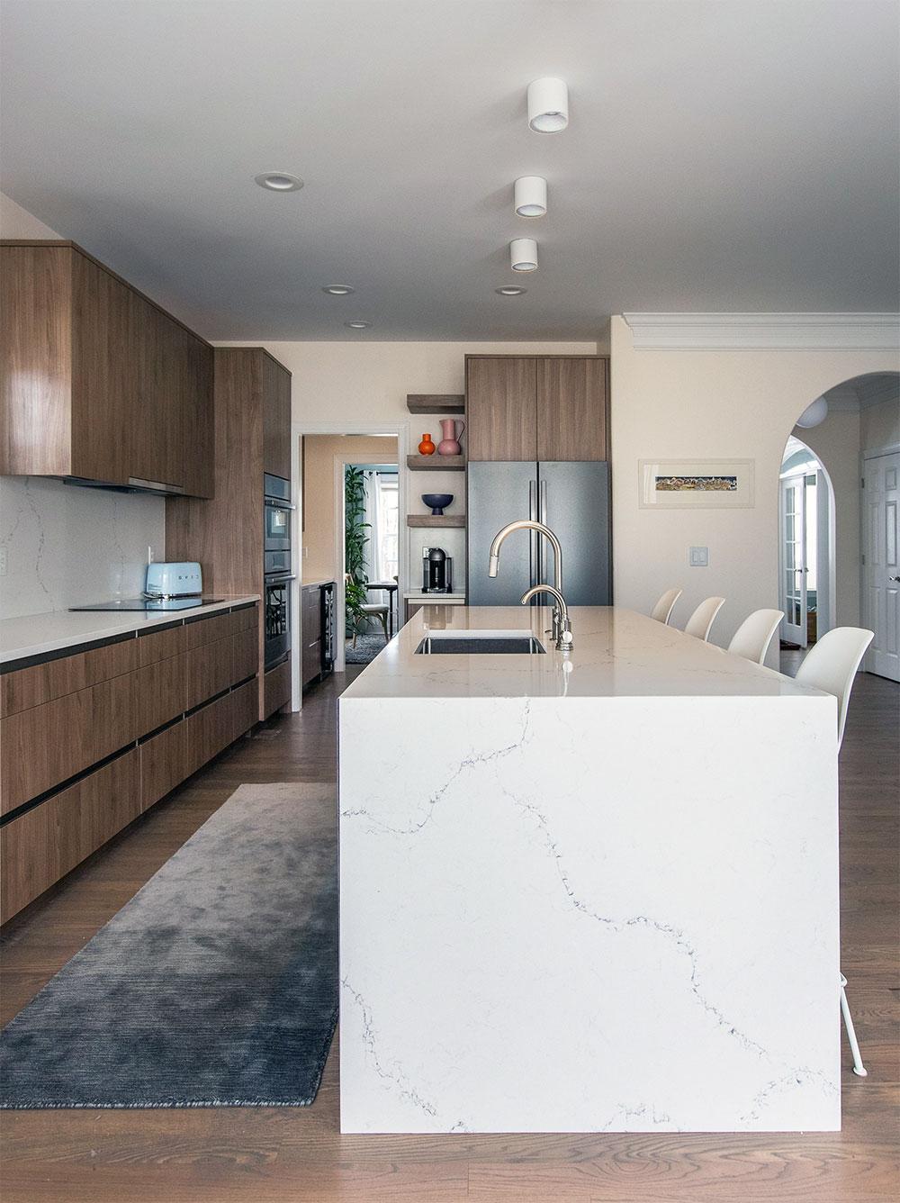 Alton Kitchen Remodel and Design: Island