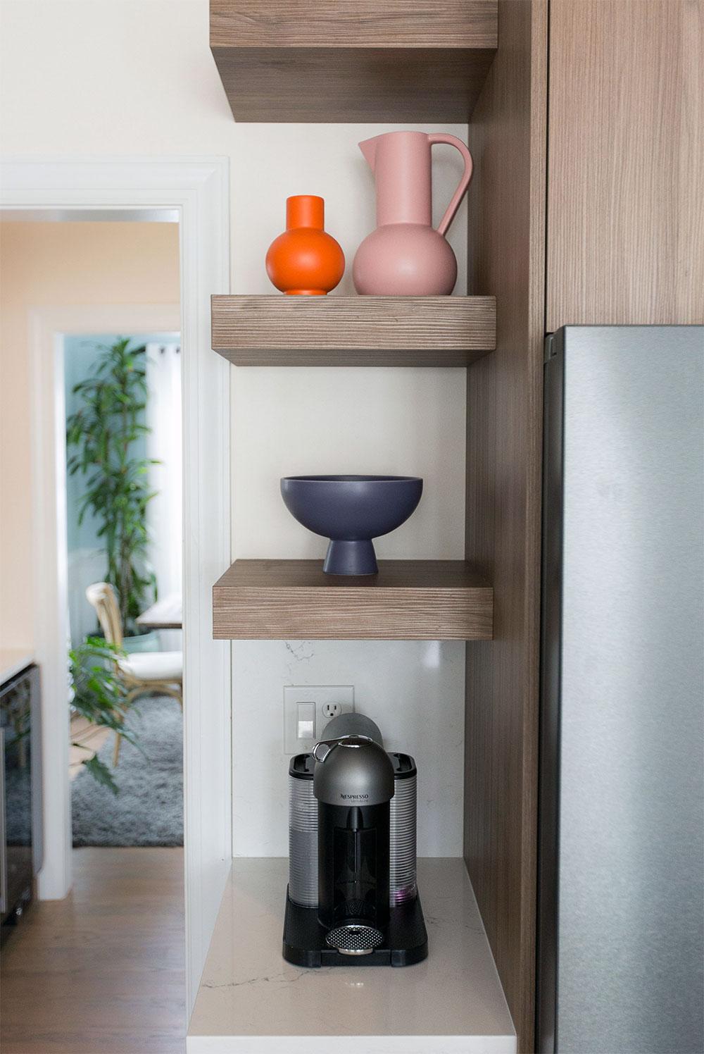 Alton Kitchen Remodel: Custom Shelving