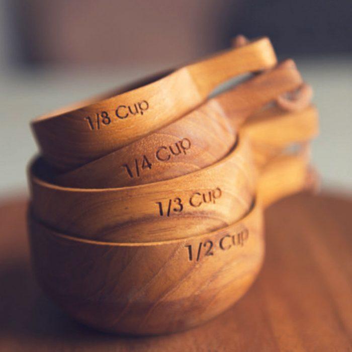 Kyndred Teak Measuring Cups