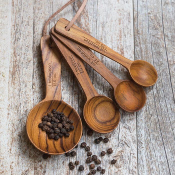 Kyndred Teak Measuring Spoons