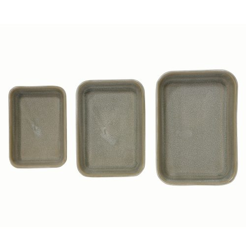 Green Reactive Glaze Ceramic Stonewear Bakers