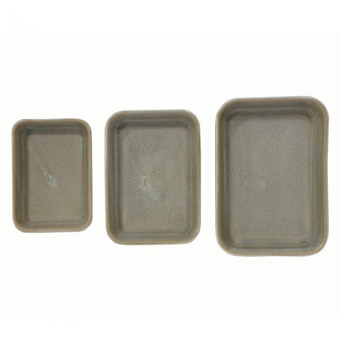 Green Reactive Glaze Ceramic Stonewear Bakers
