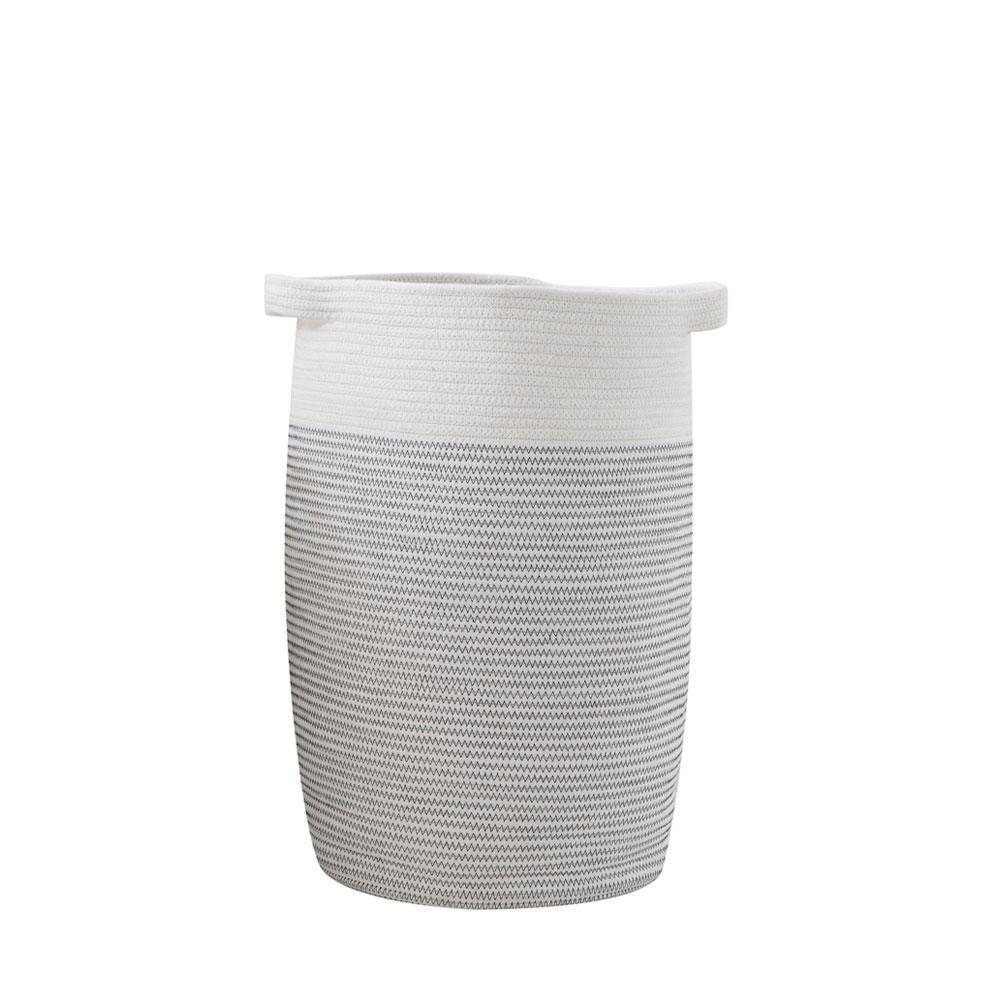 Kyndred Large Woven Rope Basket