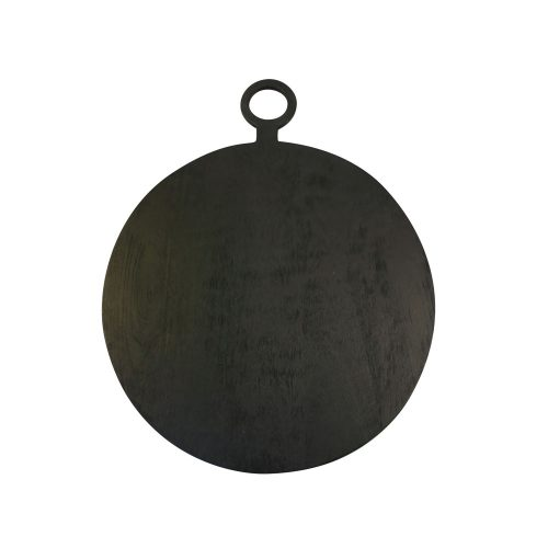 Black Mango Wooden Board Round