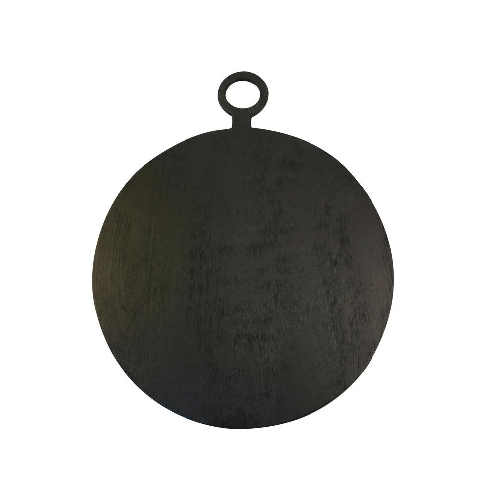 Black Mango Wooden Board Round