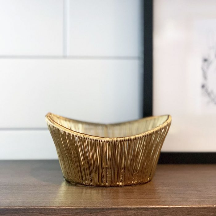 Kyndred Gold Wire Bowl