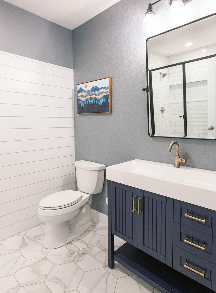 Casey Bathroom Remodel: Sink Vanity and Toilet