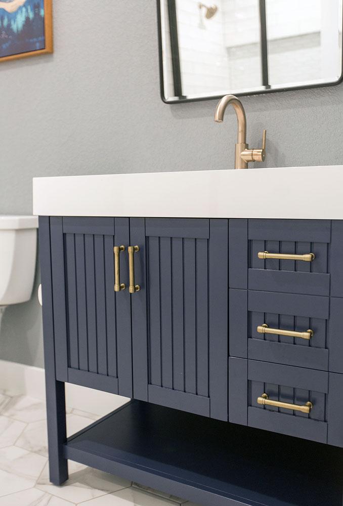 Casey Bathroom Remodel: Sink Vanity