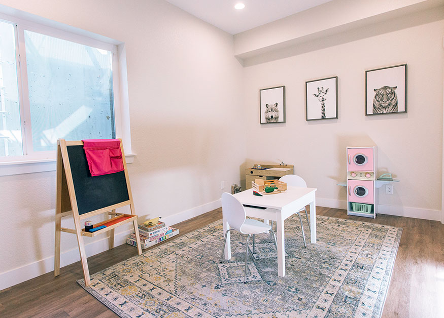 Casey Basement Remodel: Kids Playroom