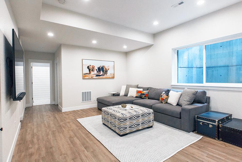 Casey Basement Remodel: Family Room