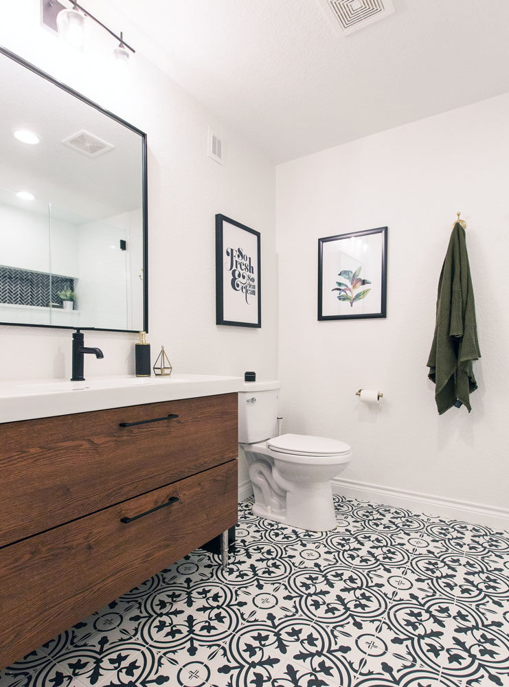 Chitwood Bathroom Remodel: Toilet