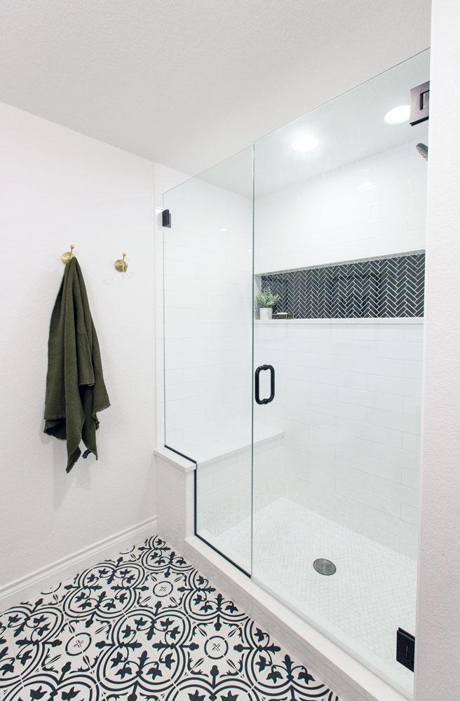 Chitwood Bathroom Remodel: Shower