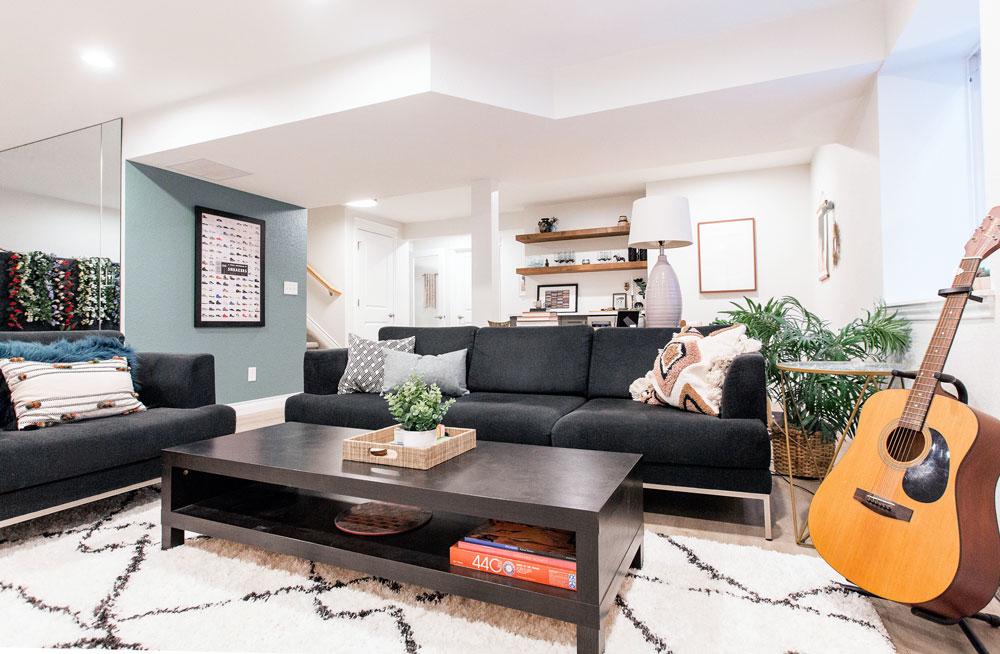Chitwood Basement Remodel: Family Room