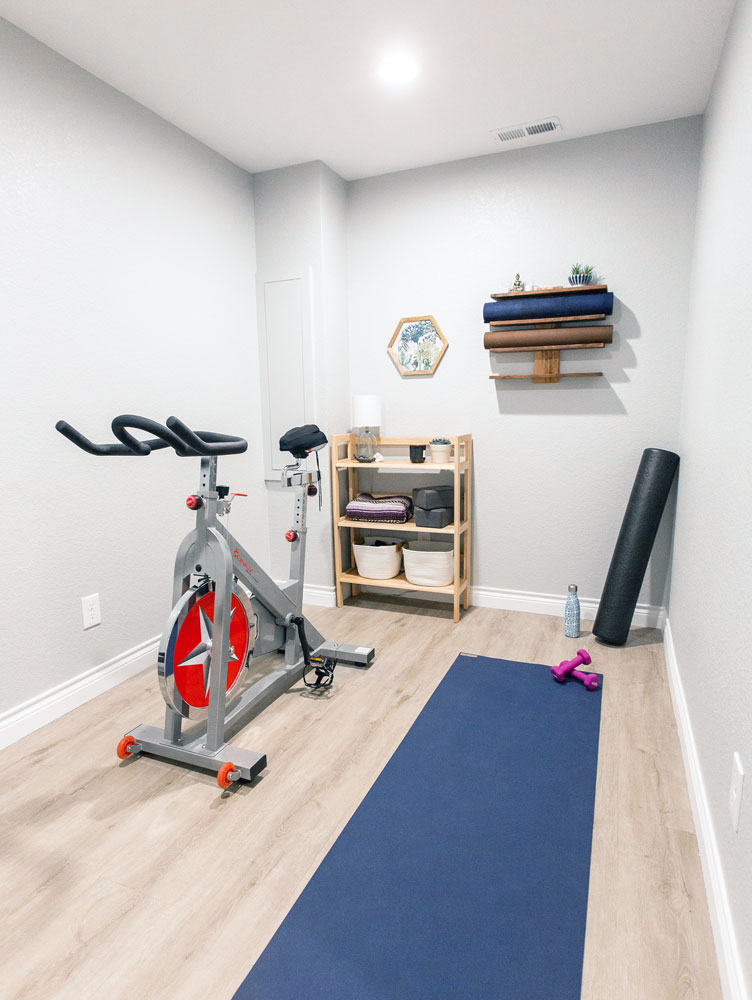 Chitwood Basement Remodel: Exercise Room