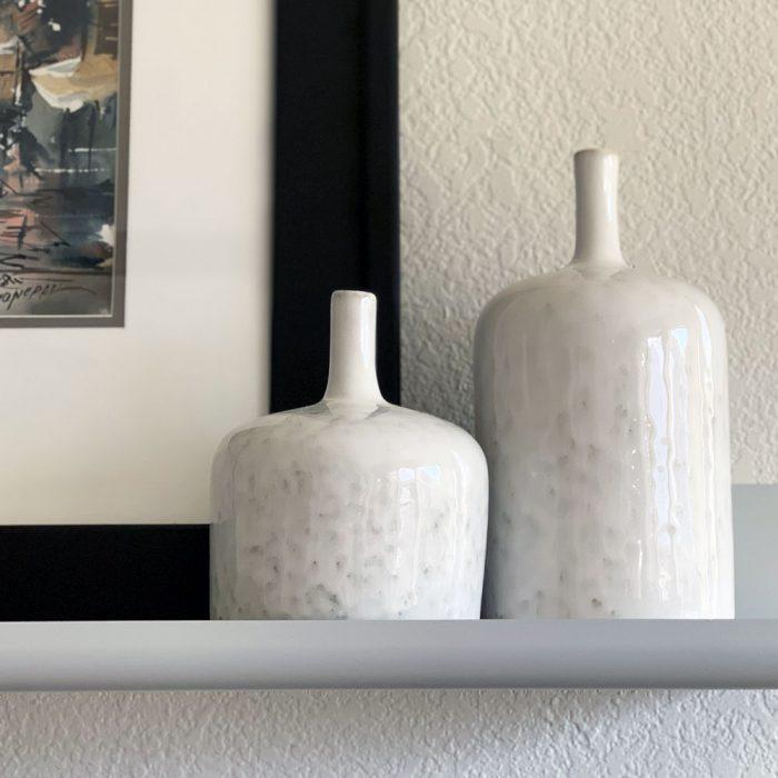 Kyndred White Vases