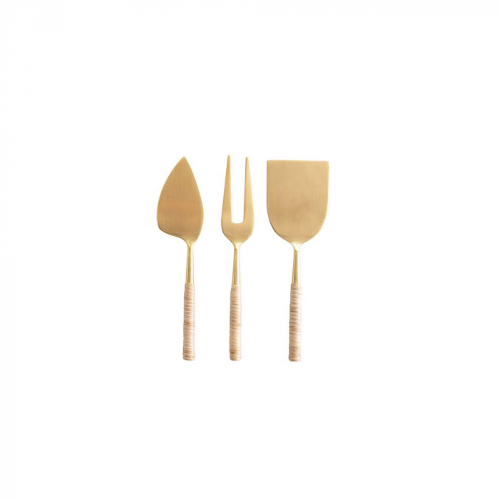 Kyndred Gold Wrapped Cheese Servers