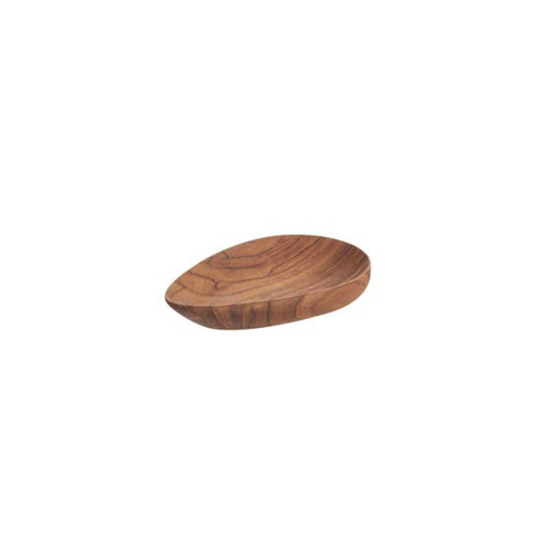 Kyndred Teak Teardrop Bowl