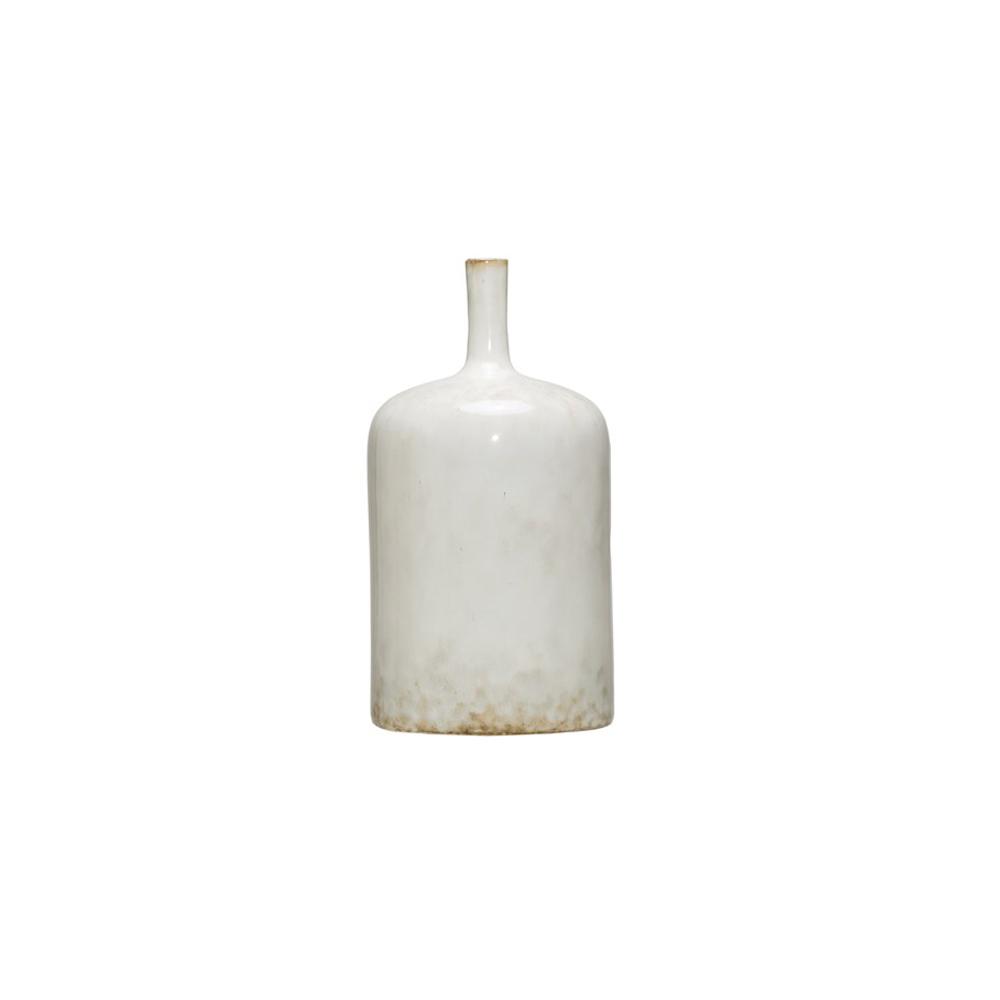 Kyndred Tall White Vase