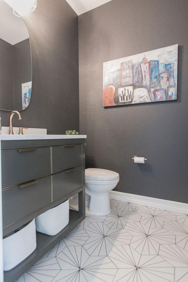 Berman Bathroom Remodel: Toilet