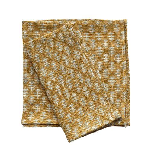 napkin mustard